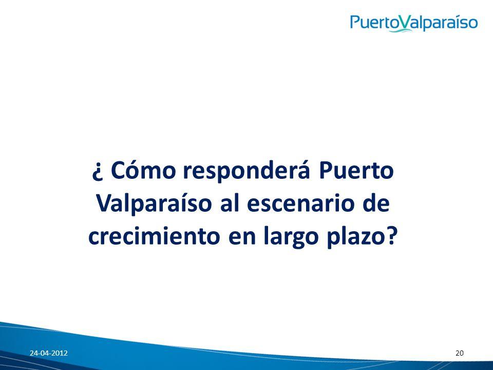 ¿ Cómo responderá Puerto Valparaíso al escenario de crecimiento en largo plazo