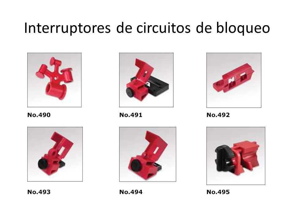 Interruptores de circuitos de bloqueo