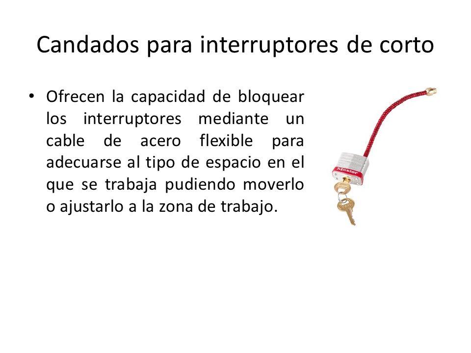 Candados para interruptores de corto