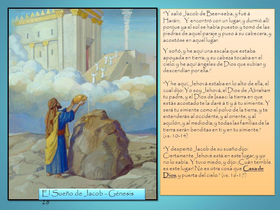 El Sueño de Jacob - Génesis 28