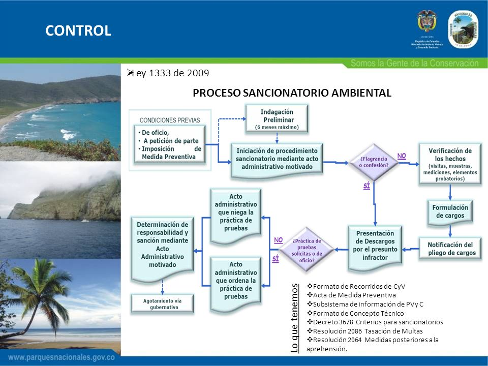 PROCESO SANCIONATORIO AMBIENTAL