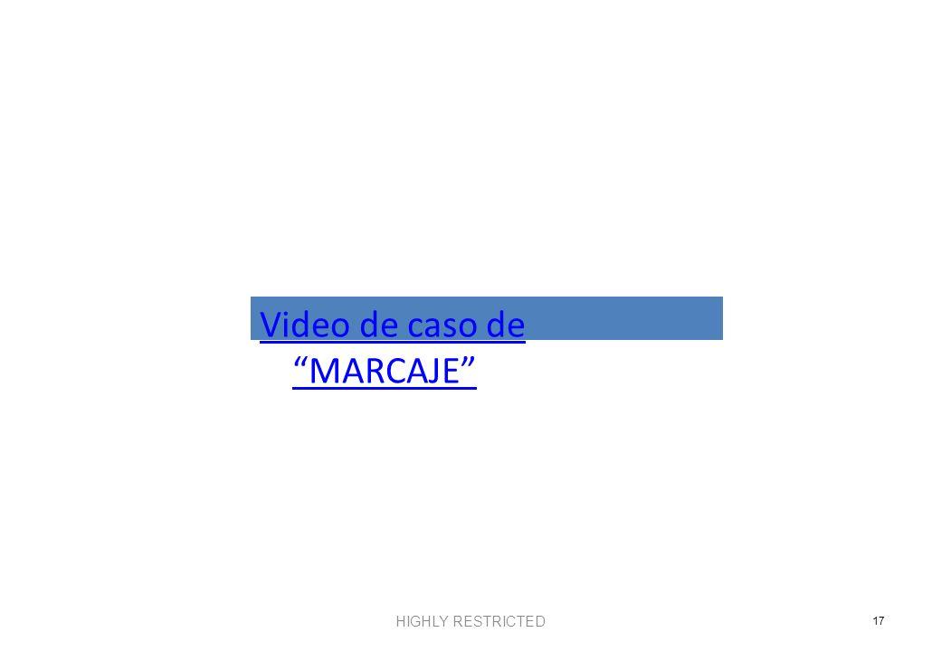 Video de caso de MARCAJE