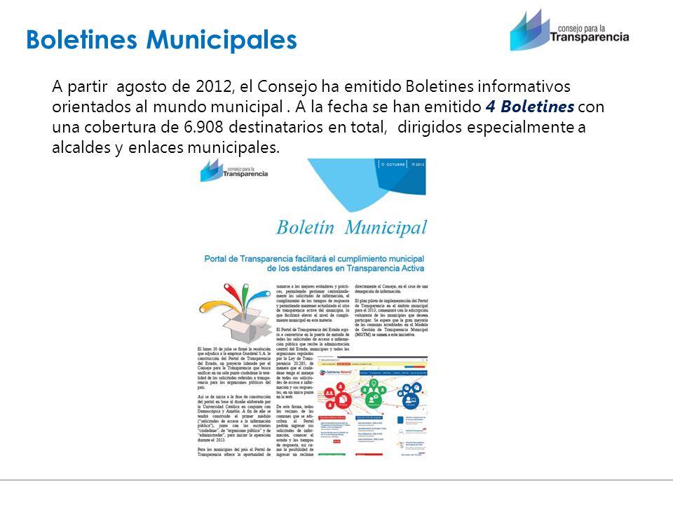 Boletines Municipales