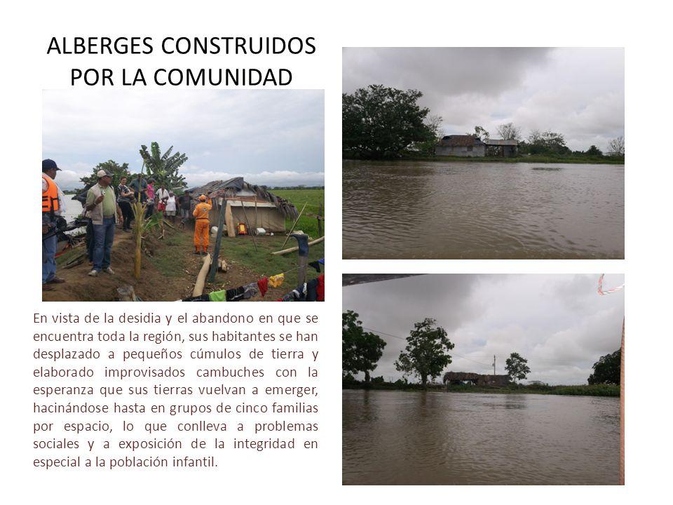 ALBERGES CONSTRUIDOS POR LA COMUNIDAD