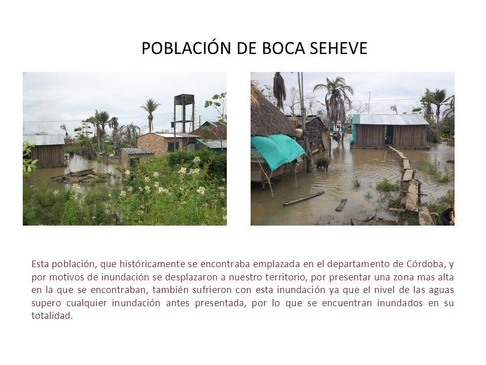 POBLACIÓN DE BOCA SEHEVE