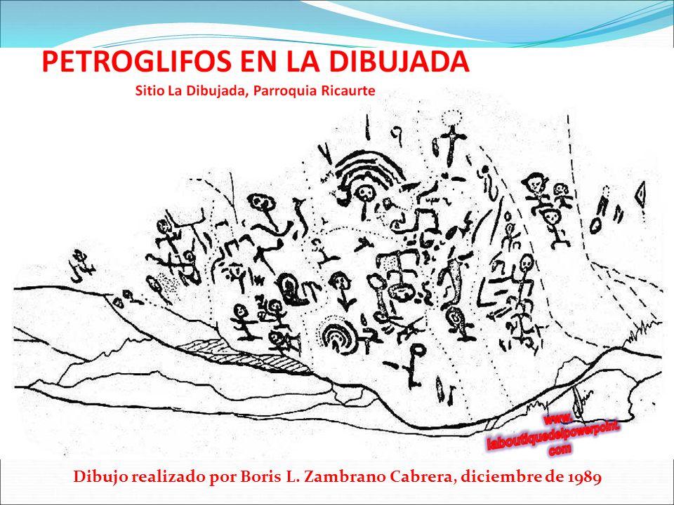 Dibujo realizado por Boris L. Zambrano Cabrera, diciembre de 1989