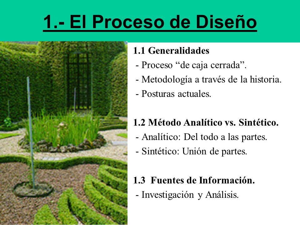 1.- El Proceso de Diseño 1.1 Generalidades