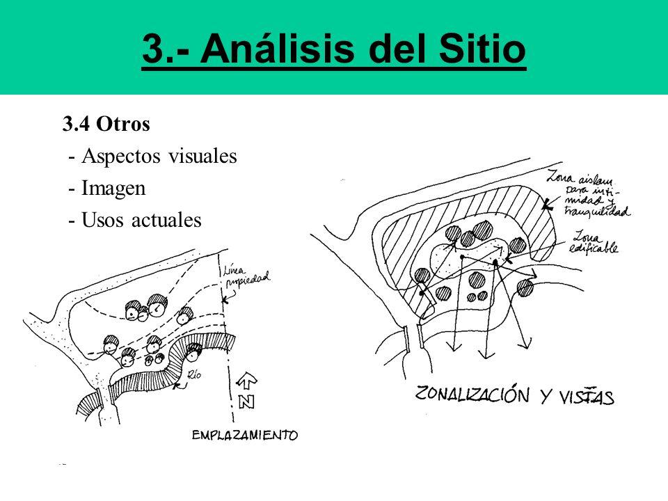 3.- Análisis del Sitio 3.4 Otros - Aspectos visuales - Imagen