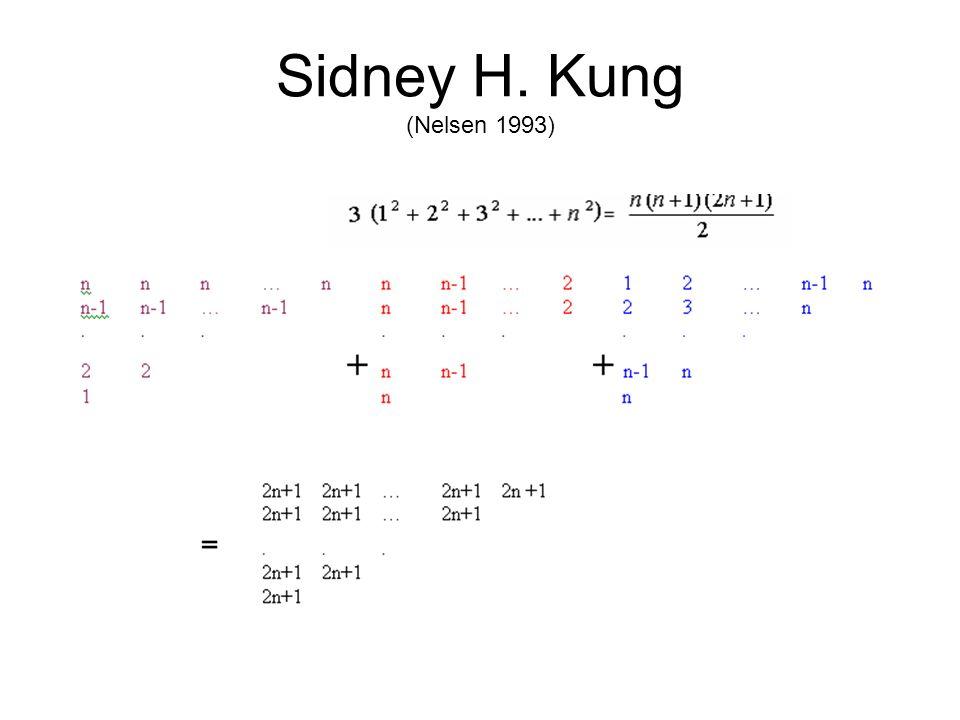 Sidney H. Kung (Nelsen 1993)