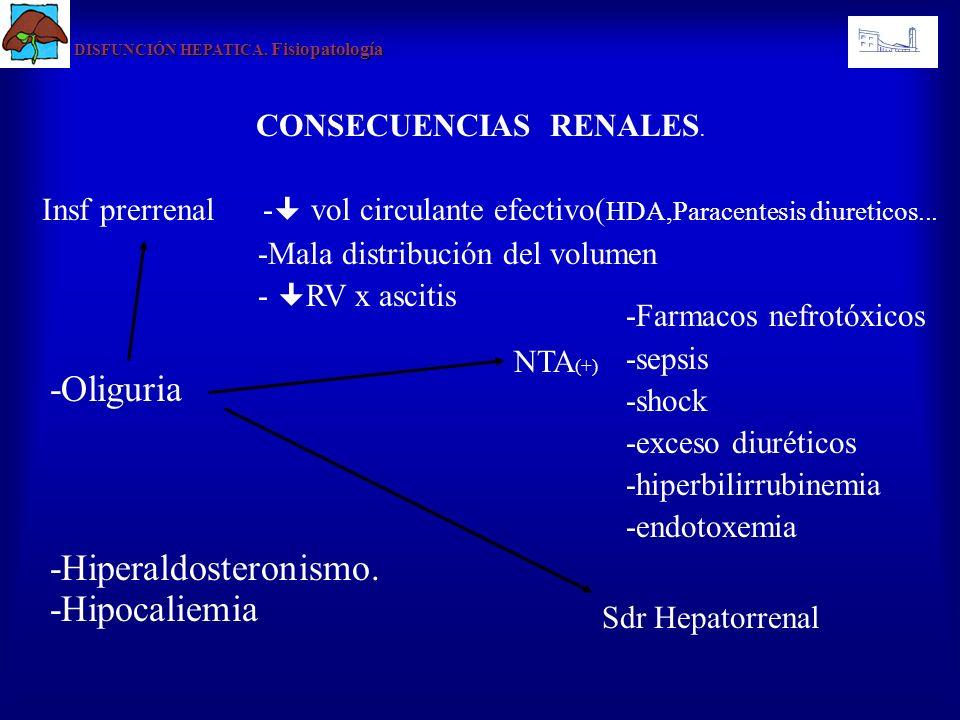 CONSECUENCIAS RENALES.