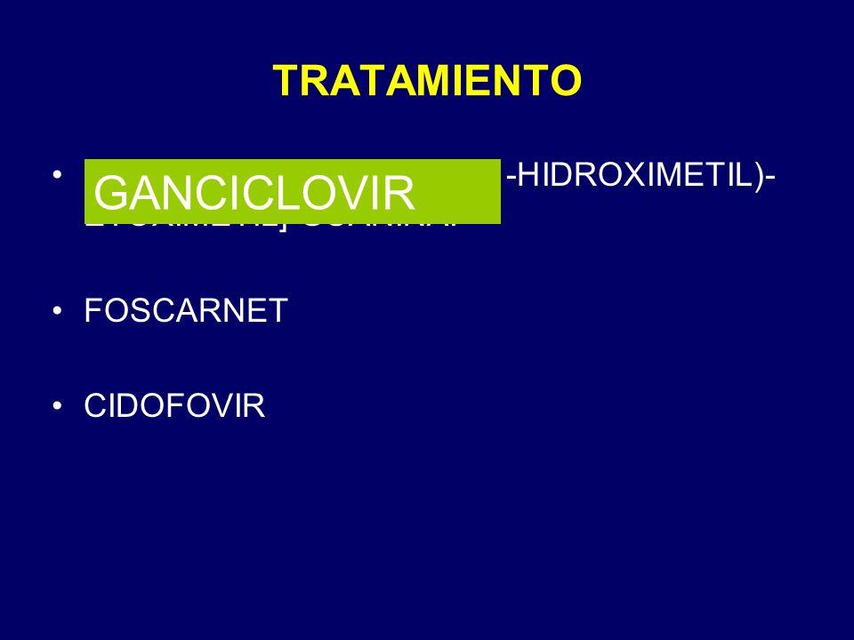 GANCICLOVIR TRATAMIENTO
