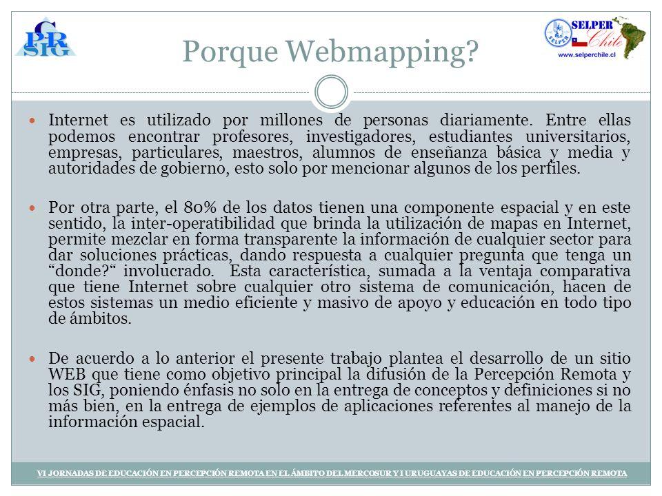 Porque Webmapping