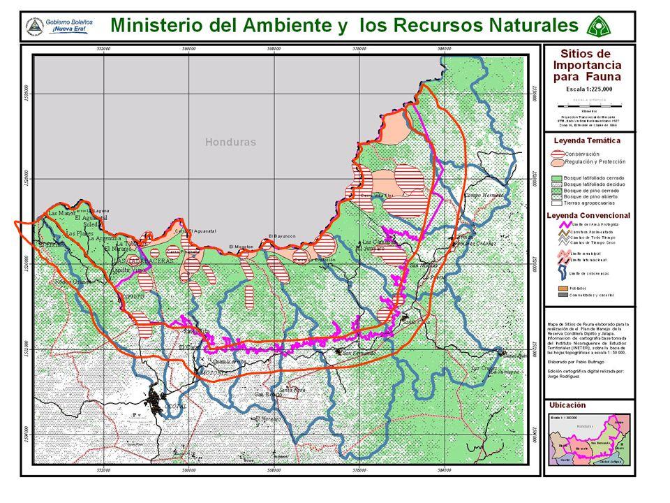 Reserva Natural cordillera Dipilto y Jalapa