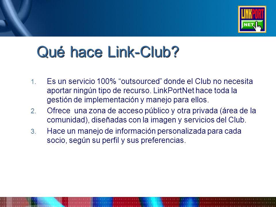 Qué hace Link-Club