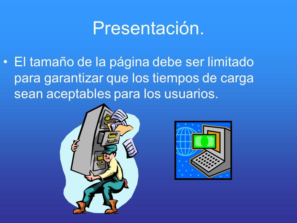 Presentación.