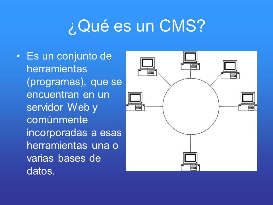 ¿Qué es un CMS