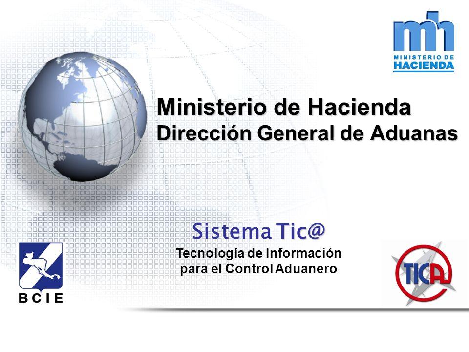 Ministerio de Hacienda Dirección General de Aduanas