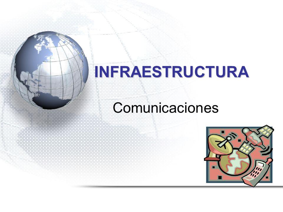 INFRAESTRUCTURA Comunicaciones