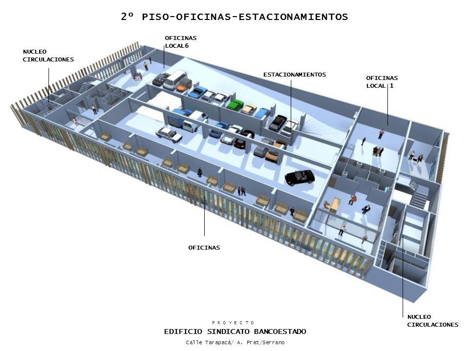 2º PISO-OFICINAS-ESTACIONAMIENTOS