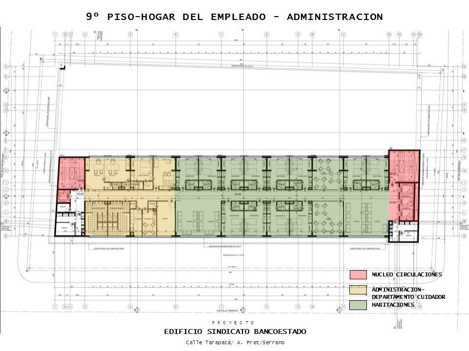 9º PISO-HOGAR DEL EMPLEADO - ADMINISTRACION