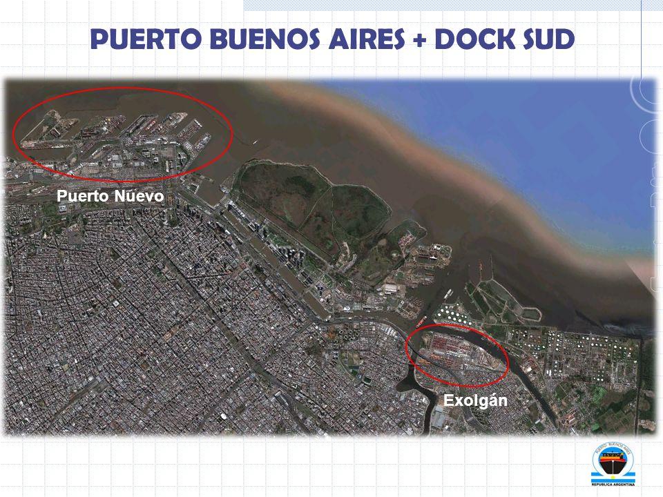 PUERTO BUENOS AIRES + DOCK SUD