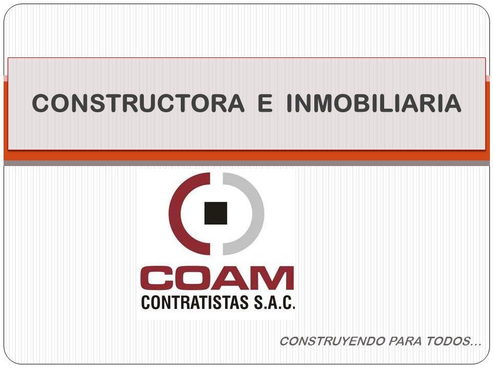 CONSTRUCTORA E INMOBILIARIA