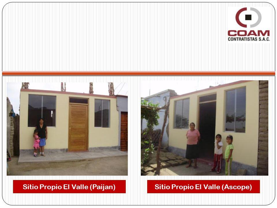 Sitio Propio El Valle (Paijan) Sitio Propio El Valle (Ascope)
