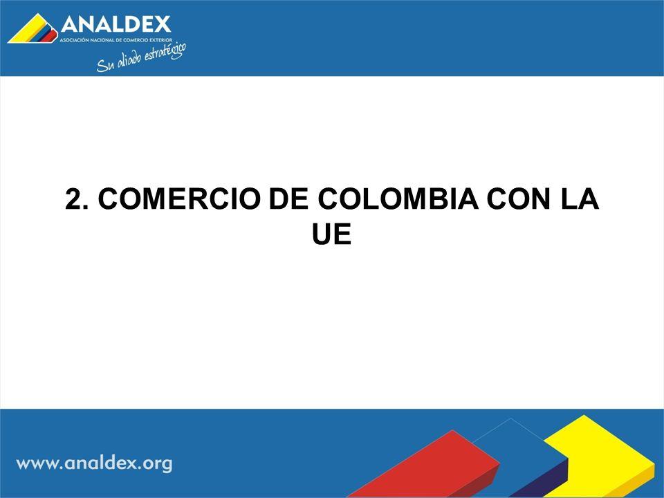 2. COMERCIO DE COLOMBIA CON LA UE
