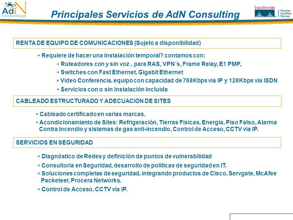 Principales servicios de AdN Consulting