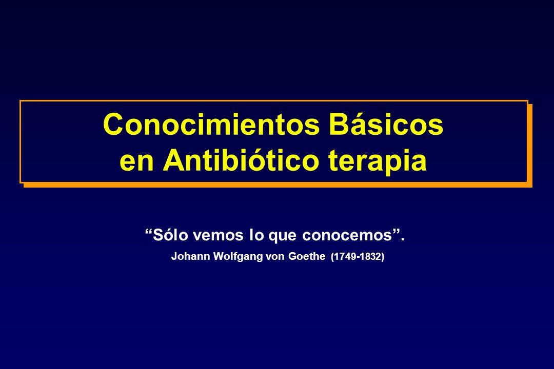 Conocimientos Básicos en Antibiótico terapia