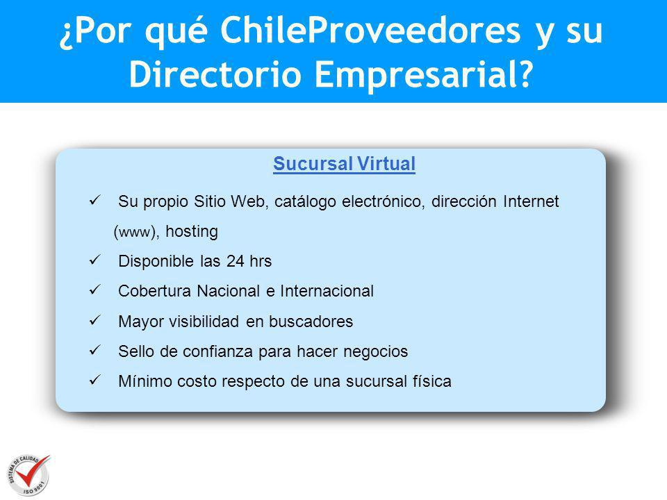 ¿Por qué ChileProveedores y su Directorio Empresarial