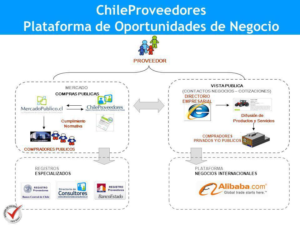 ChileProveedores Plataforma de Oportunidades de Negocio