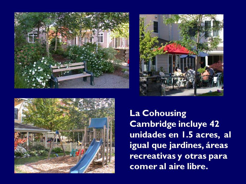 La Cohousing Cambridge incluye 42 unidades en 1