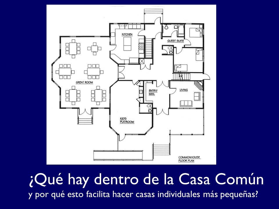 ¿Qué hay dentro de la Casa Común