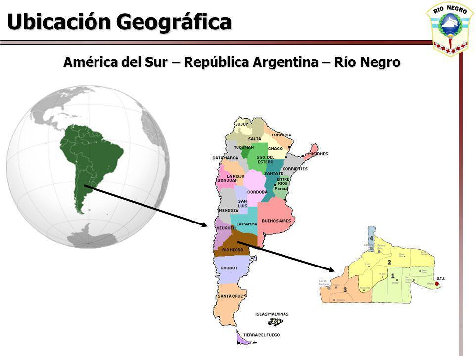 América del Sur – República Argentina – Río Negro