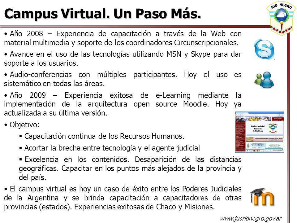 Campus Virtual. Un Paso Más.