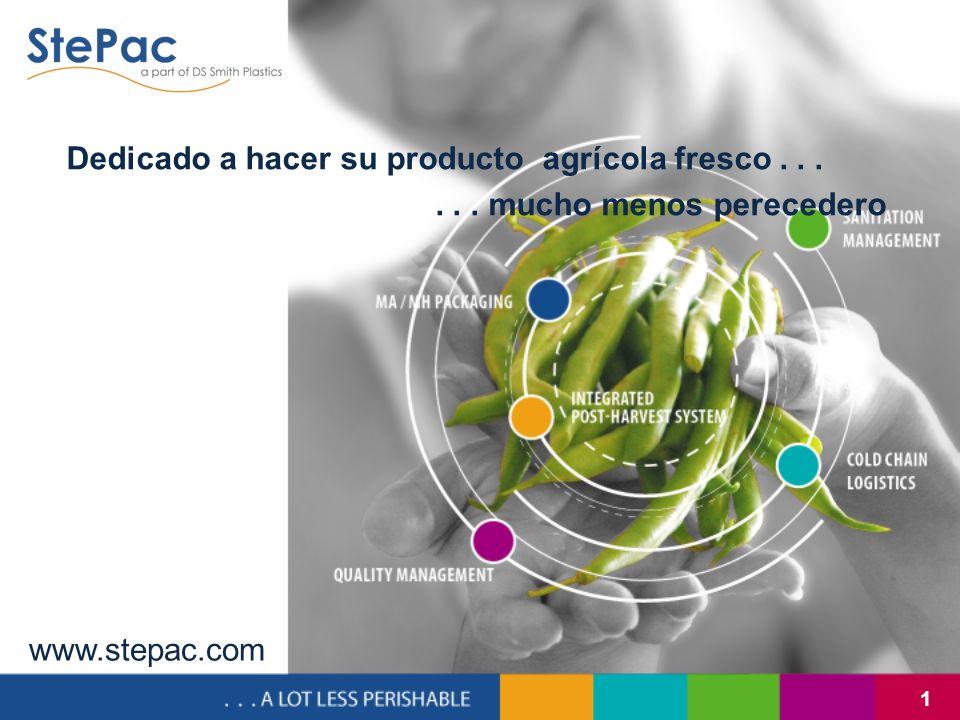 Dedicado a hacer su producto agrícola fresco . . .