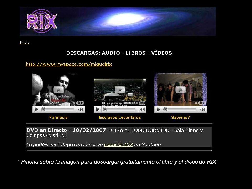 * Pincha sobre la imagen para descargar gratuitamente el libro y el disco de RIX