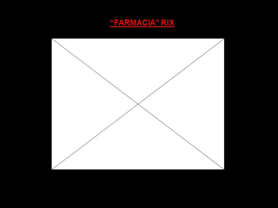 FARMACIA RIX