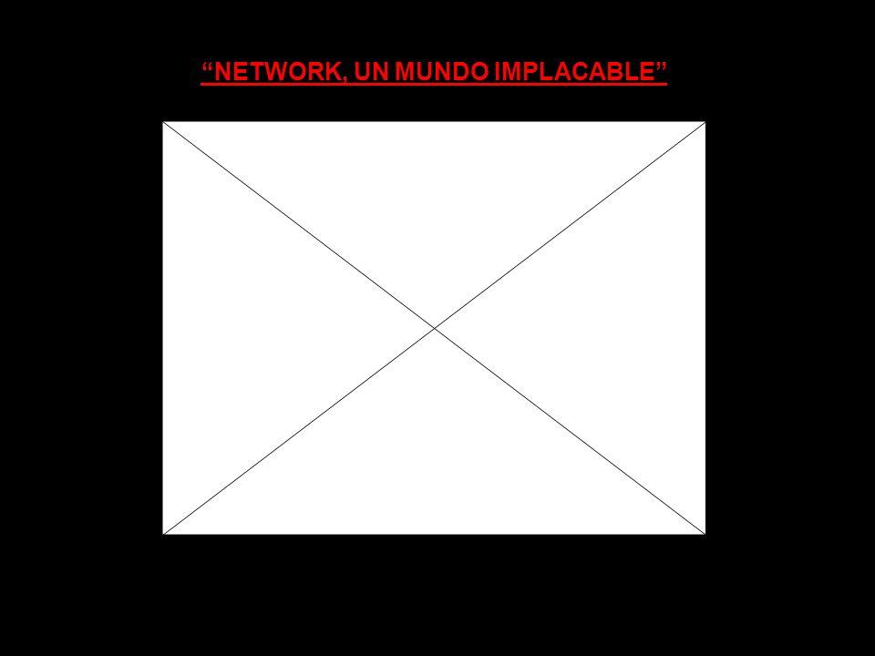 NETWORK, UN MUNDO IMPLACABLE