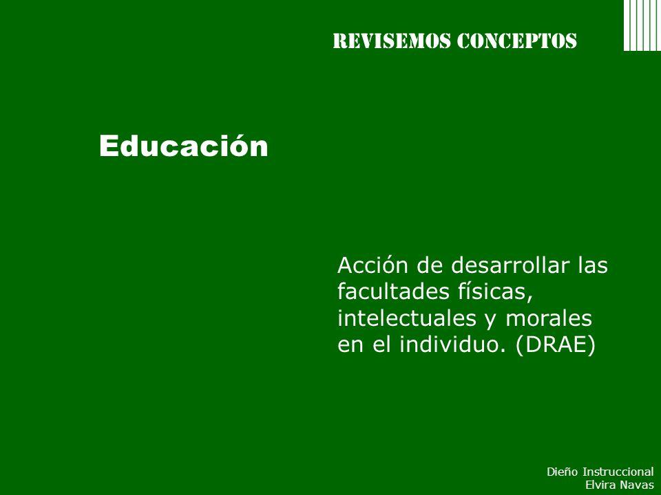 Educación Revisemos conceptos