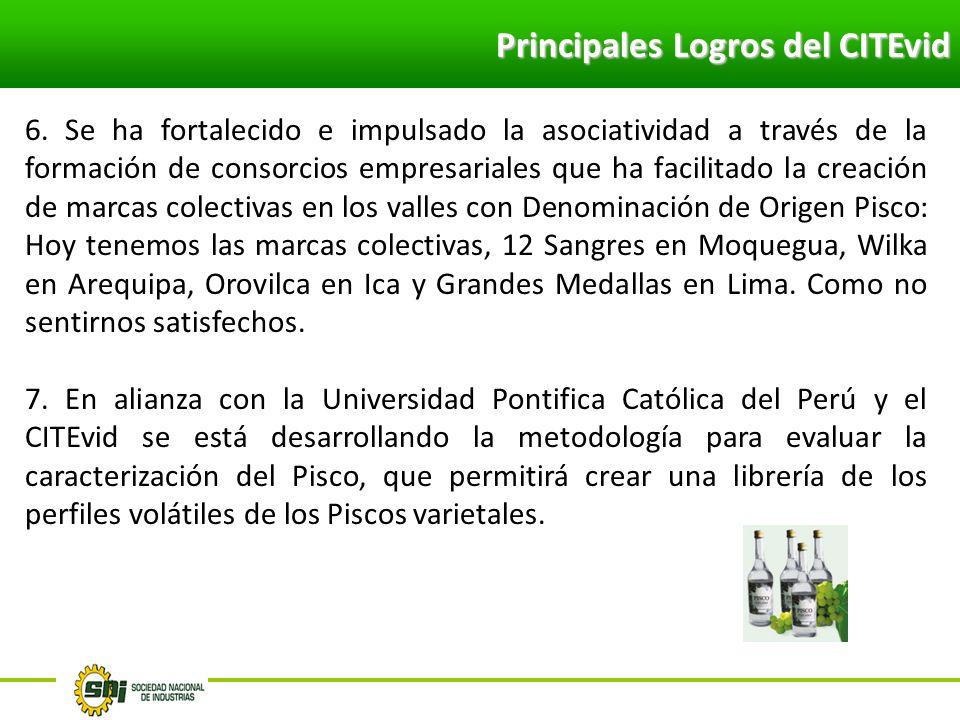 Principales Logros del CITEvid
