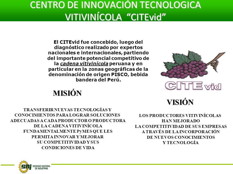 CENTRO DE INNOVACIÓN TECNOLOGICA VITIVINÍCOLA CITEvid