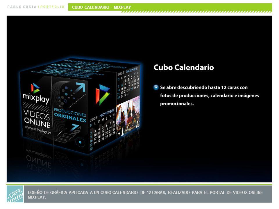 CUBO CALENDARIO - MIXPLAY