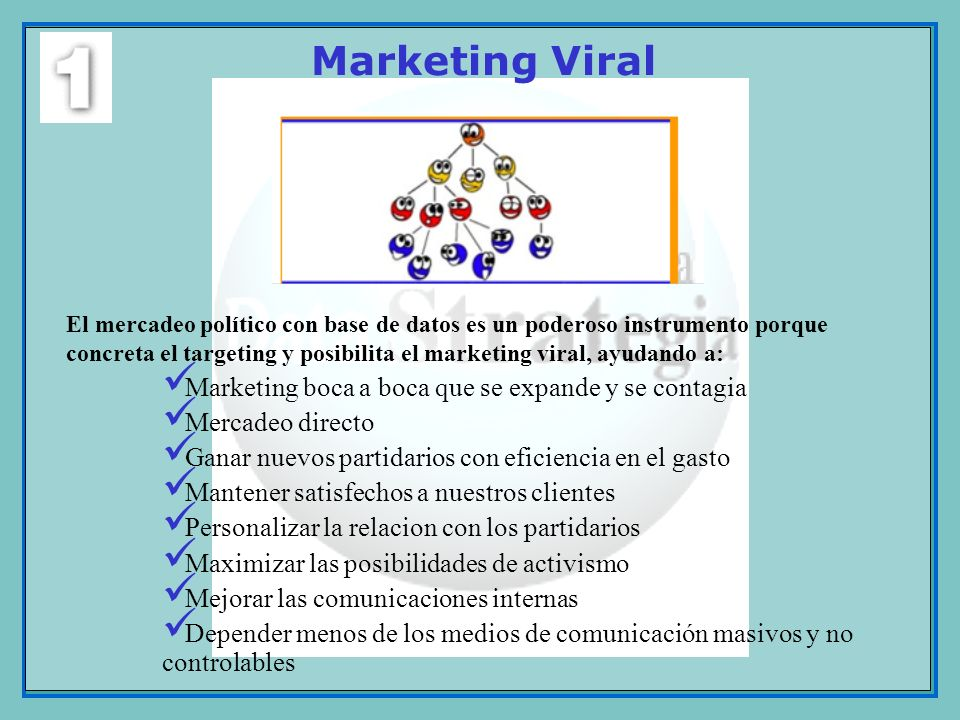 Marketing Viral Marketing boca a boca que se expande y se contagia