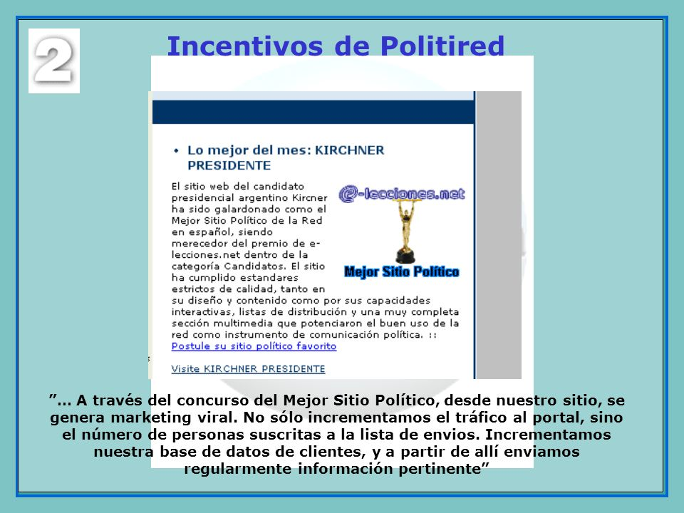Incentivos de Politired
