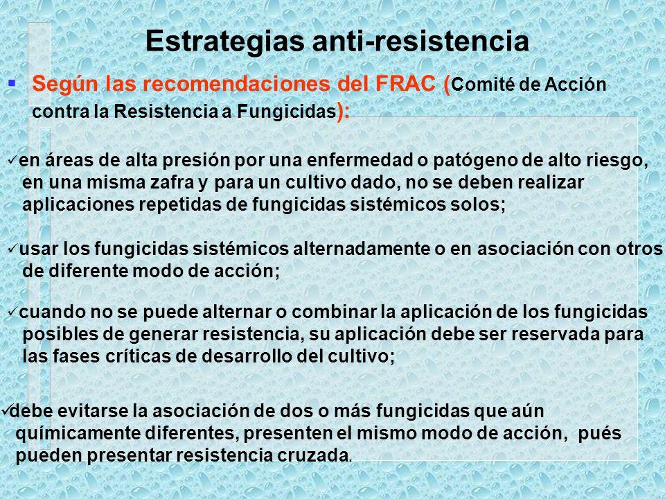Estrategias anti-resistencia