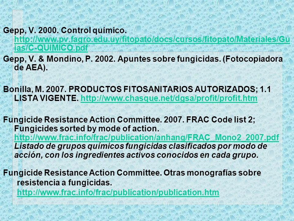 Gepp, V. 2000. Control químico. http://www. pv. fagro. edu