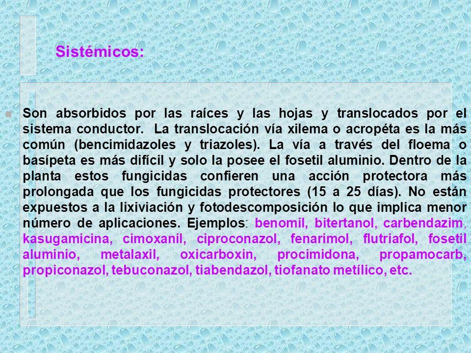 Sistémicos: