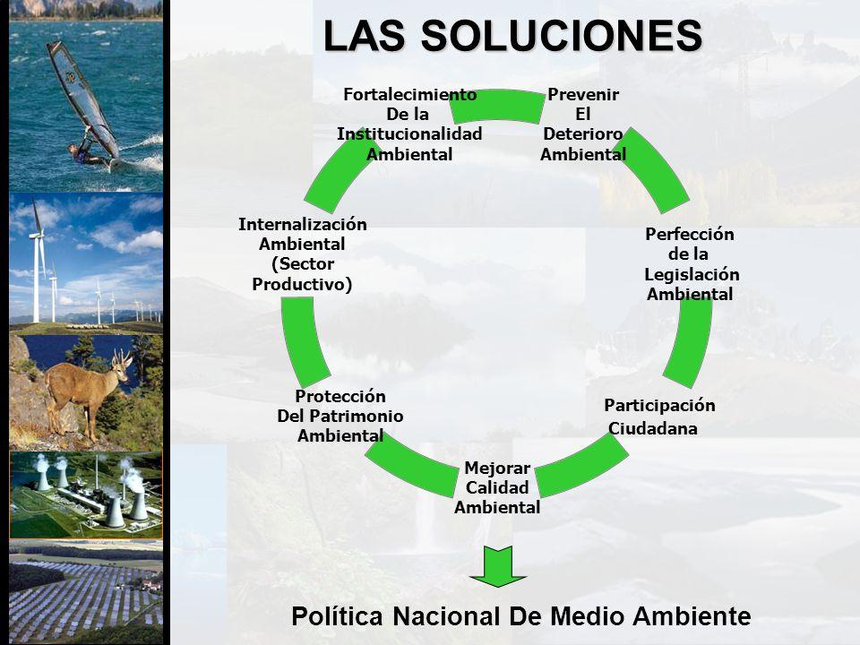 Política Nacional De Medio Ambiente